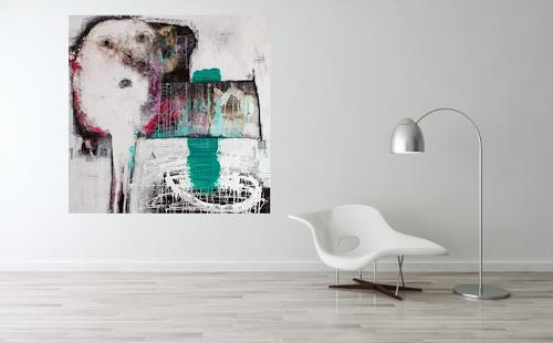 """Christa Hartmann, Kunst  & Wohnen  """" Zum Schauen bestellt , Abstract art, Fantasy, Abstract Expressionism"""