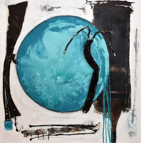 """Christa Hartmann,  Die Ahnung vom Ganzen """" II, Abstract art, Fantasy, Abstract Expressionism"""