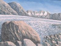 Berchtold Art Landscapes: Mountains Modern Age Naturalism