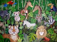 Saza-Bacheh-Miscellaneous-Animals-Landscapes-Tropics-Contemporary-Art-Contemporary-Art
