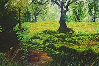 Maria-Osning-Landscapes-Landscapes-Mountains-Modern-Age-Impressionism