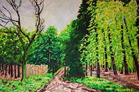 Maria-Osning-Nature-Wood-Landscapes-Spring-Modern-Age-Expressionism