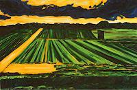 Maria-Osning-Landscapes-Plains-Modern-Age-Expressionism