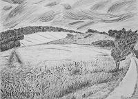 Maria-Osning-Landscapes-Hills-Modern-Age-Naturalism