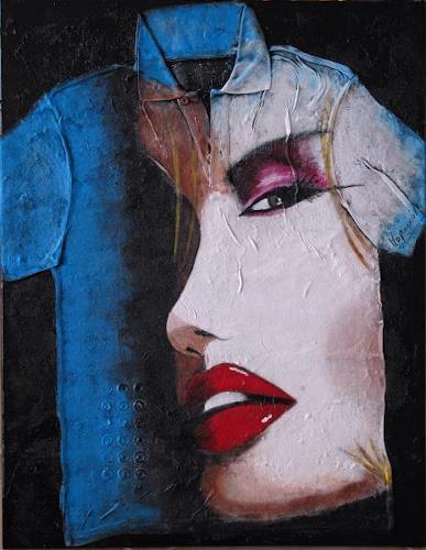 Barbara Vapenik, Geschminkt, Decorative Art, Contemporary Art