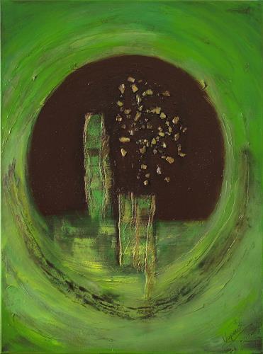Barbara Vapenik, Hoffnung, Abstract art, Contemporary Art