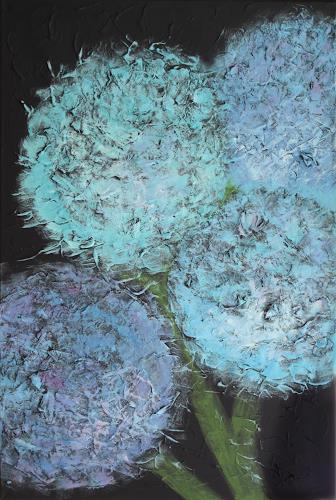 Barbara Vapenik, Hortensien, Abstract art, Contemporary Art
