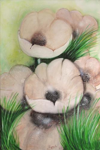 Barbara Vapenik, Mohnblumen II, Plants: Flowers, Contemporary Art