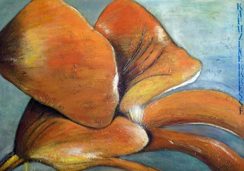 Barbara Vapenik, Kapuzinerkresse, Plants: Flowers, Abstract Art