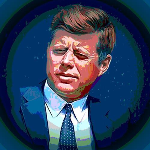 Arie Wubben, John F. Kennedy, People: Men, Mythology, New Image Painting