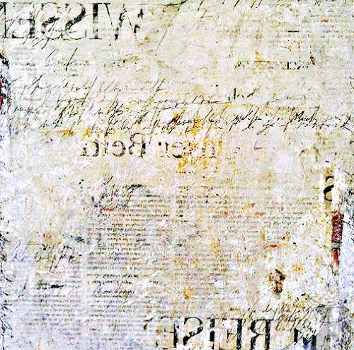 nanne hagendorff, Der Brief, Abstract art, Expressionism
