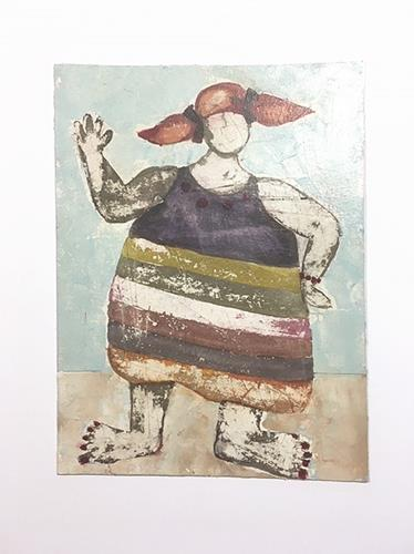 nanne hagendorff, Aber irgendwann passte Pipi nicht mehr in ihren Langstrumpf, People, Abstract Art