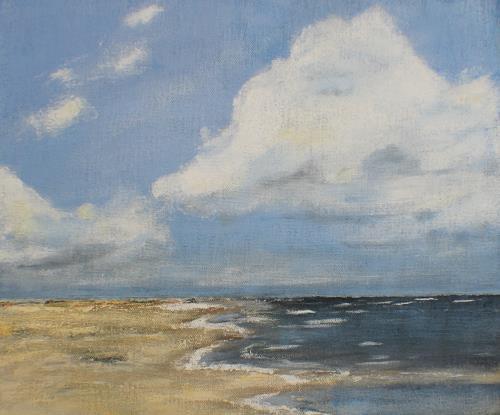 Beate Fritz, heiter bis wolkig, Landscapes: Sea/Ocean, Landscapes: Beaches