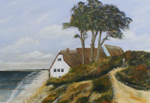 Beate Fritz, Ein stückchen Darß, Landscapes: Sea/Ocean, Landscapes: Beaches