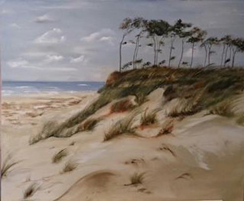 Beate Fritz, Fischland Impression, Landscapes: Sea/Ocean, Landscapes: Beaches, Contemporary Art