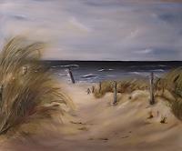 Beate-Fritz-Landscapes-Beaches-Landscapes-Sea-Ocean-Contemporary-Art-Contemporary-Art
