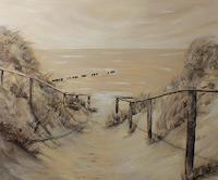 Beate-Fritz-Landscapes-Beaches-Nature-Miscellaneous-Contemporary-Art-Contemporary-Art
