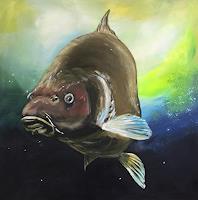 Beate-Fritz-Animals-Water-Miscellaneous-Animals-Contemporary-Art-Contemporary-Art