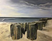 Beate-Fritz-Landscapes-Sea-Ocean-Landscapes-Beaches-Contemporary-Art-Contemporary-Art