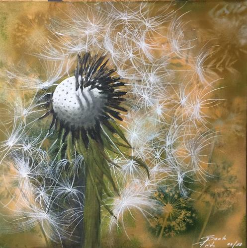 Beate Fritz, Wünsche, Plants, Plants: Flowers, Contemporary Art, Expressionism