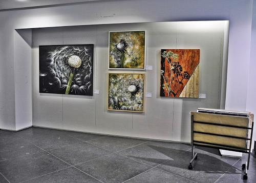Beate Fritz, AUSSTELLUNG ROSTOCHER HOF BEATE FRITZ & UTE KLEIST, Miscellaneous Plants, Abstract Art