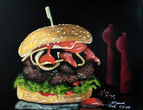 Beate Fritz, GOURMET FOODS, Meal, Still life, Contemporary Art
