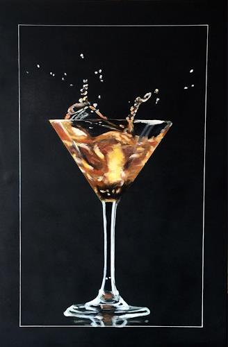 Beate Fritz, Cocktail, Parties/Celebrations, Still life, Contemporary Art, Expressionism