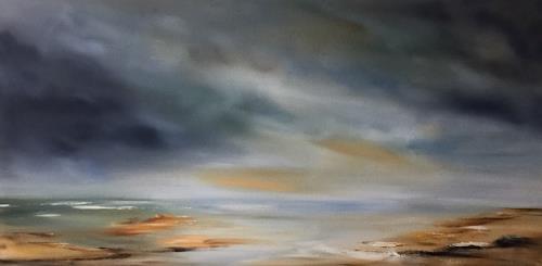 Beate Fritz, Ein Ort zum Träumen, Landscapes: Sea/Ocean, Nature: Water, Contemporary Art, Expressionism