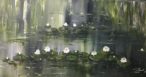 Beate Fritz, Still und sanft, Landscapes: Sea/Ocean, Nature: Water, Contemporary Art, Expressionism