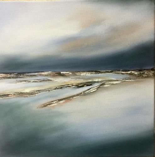 Beate Fritz, Meer- Liebe, Landscapes: Sea/Ocean, Nature: Water, Contemporary Art, Expressionism