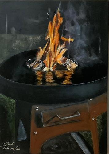 Beate Fritz, Bereit...., Meal, Decorative Art, Abstract Art