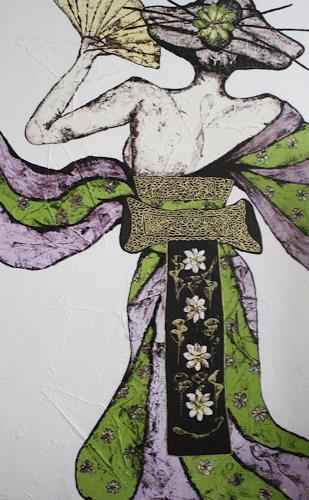 Pamela Gotangco, Omocha, People: Women, Contemporary Art, Expressionism