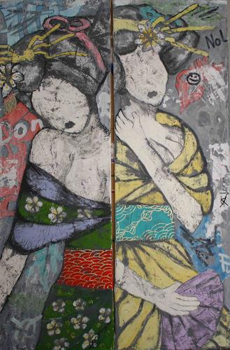 Pamela Gotangco, Trust no One, People: Women, Contemporary Art