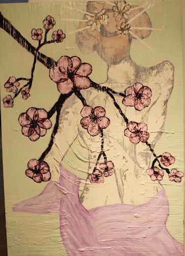 Pamela Gotangco, Sakura, People: Women, Contemporary Art