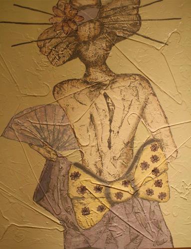 Pamela Gotangco, Sayuki, People: Women, Contemporary Art, Expressionism