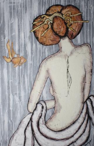 Pamela Gotangco, Forever, Erotic motifs: Female nudes, People: Women, Contemporary Art