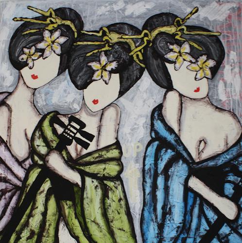 Pamela Gotangco, Shamisen 2, Music, People: Women, Contemporary Art