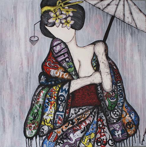Pamela Gotangco, Number 2, People, Contemporary Art, Expressionism