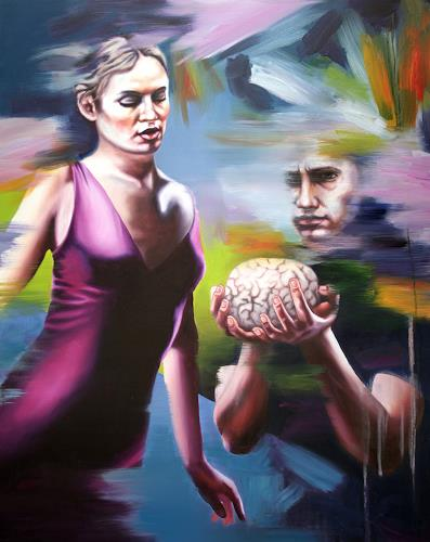 Robert Gärtner, Brainstorm, People: Couples, Miscellaneous People, Abstract Expressionism