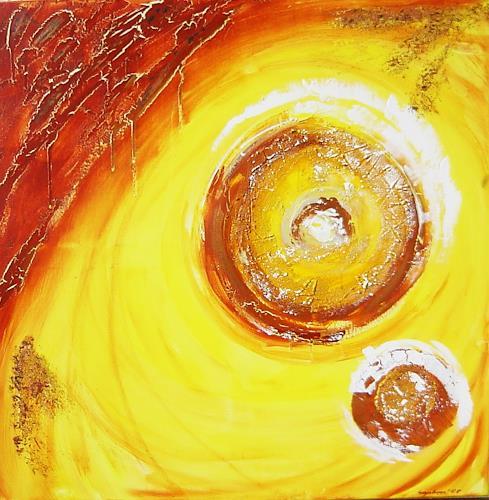 agabea, Sonnen, Abstract art, Times: Summer, Abstract Art