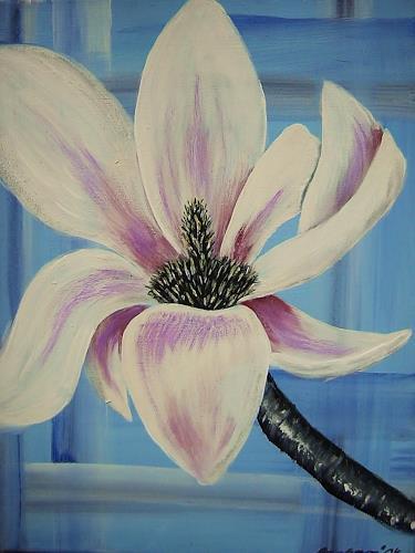 agabea, Magnolie 2, Plants: Flowers, Decorative Art, Art Déco