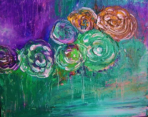 agabea, Blumen, Plants: Flowers, Abstract art, Abstract Art