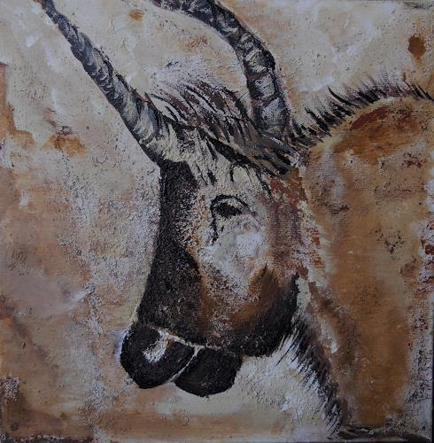 agabea, Lascaux / Stier, Animals: Land, Hunting, Others