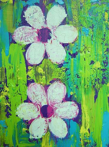 agabea, Blüten, Abstract art, Plants: Flowers, Abstract Art