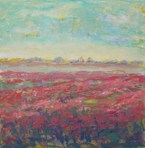 agabea, Juni, Landscapes: Summer, Miscellaneous Plants, Contemporary Art, Expressionism