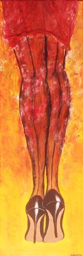 agabea, Schau, meine neue Schuhe, Emotions: Pride, Miscellaneous Erotic motifs