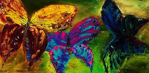 agabea, Schmetterlinge, Animals: Land, Animals: Air, Abstract Art, Expressionism