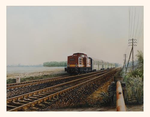 Bernd Kauschmann, Reisen in Brandenburg, Technology, Traffic: Railway