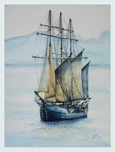 Bernd Kauschmann, Dreimaster, Verkehr: Ship, Realism