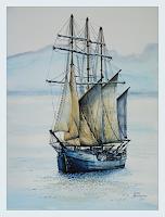 Bernd-Kauschmann-Verkehr-Ship-Modern-Times-Realism